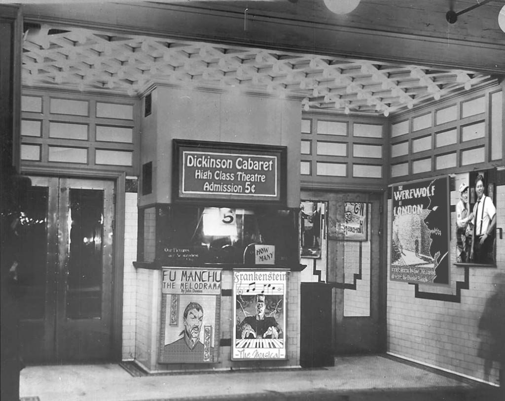Dickinson Cabaret Lobby